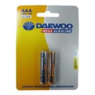 Батарейка Daewoo LR03 Gold BL 2/20/480