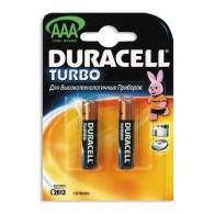 Батарейка Duracell LR03 TURBO BL 2/20