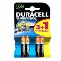 Батарейка Duracell LR03 TURBO BL 4/40