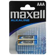 Батарейка Maxell LR03 Alkaline BL 2/24