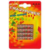 Батарейка Jazzway LR03 CrazyPower BL 4\40\640