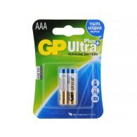 Батарейка GP LR03 Ultra Plus BL 2/20