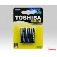Батарейка Toshiba LR03 BL 4/48/192