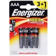 Батарейка Energizer LR03 BL 3+1/48