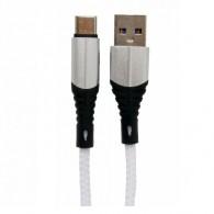 Кабель USB- Type-C Lace 3A 1м