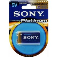 Батарейка Sony 6LR61 Platinum BL 1/18