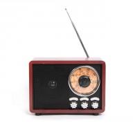 Радиоприемник БЗРП РП-328 (УКВ,СВ,КВ, USB,microSD, BT, 220v,3*R20)