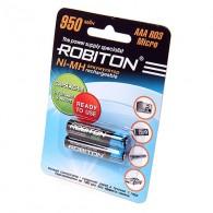 Аккумулятор Robiton R03 950mAh BL 2\50 предзаряд