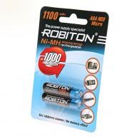 Аккумулятор Robiton R03 1100mAh BL 2\50