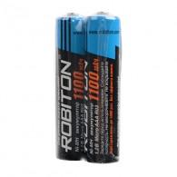 Аккумулятор Robiton R03 1100mAh sh 2\50