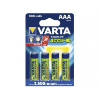 Аккумулятор Varta R03 800 Ni-Mh BL 4/40