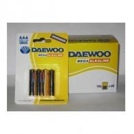 Батарейка Daewoo LR03 BL 4/40/960
