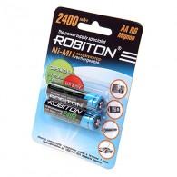 Аккумулятор Robiton R6 2400 BL 2\50 предзаряд