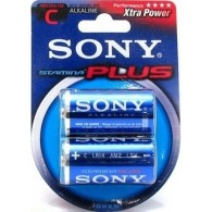 Батарейка Sony LR14 Stamina Plus BL 2/24/96