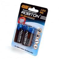 Аккумулятор Robiton R14 4500 Ni-Mh BL 2