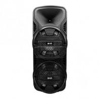 """Колонка портативная 8"""" ZQS-8205 (Bluetooth/USB /microSD/FM/ПДУ/ 1 микр) черная"""