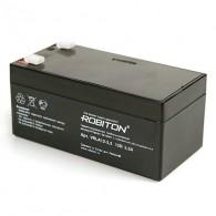 Аккумулятор для бесперебойника Robiton 12V 3,3Ah \10