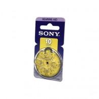 Батарейка Sony 10 (PR 70) BL 6/60/300
