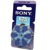 Батарейка Sony 675 (PR675) BL 6/60/300