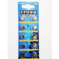 Батарейка Трофи G 3(392, LR41, 736) 10/200