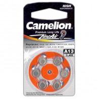 Батарейка Camelion ZA13 BL6/60