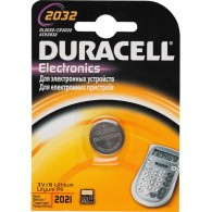 Батарейка Duracell 2032 display
