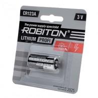 Батарейка Robiton CR-123A BL 1\8