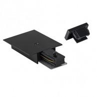 Комплект торцевых элементов для трековых систем Jazzway PTR EC-BL черный