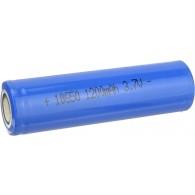 Аккумулятор Li 18650 3,7V 1200mAh плоский