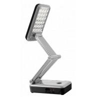 Светильник LED настольный Jazzway Accu3-L24 аккумуляторный черно-серый
