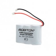 Аккумулятор р/т. Robiton Т279 (3x2\3АА) (Т107) 600mAh