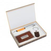 Подарочный набор (ручка+визитница+брелок) (450837)