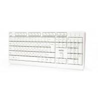 Клавиатура SmartBuy 208 USB белая (SBK-208U-W)
