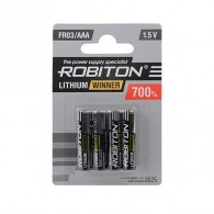 Батарейка Robiton FR03 BL4/80 (AAA литий !!!!)
