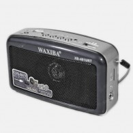 Радиоприемник XB-481 (USB/SD/FM) черный Waxiba