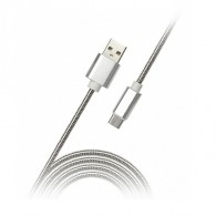 Кабель Am - microUSB SmartBuy 1м металл (iK-12silver met)