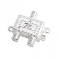 Сплиттер 2-Way 5-2500МГц Сигнал, с проходом по питанию