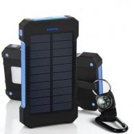Внешний аккумулятор (Power Bank) 25000mAh (ЕК-6) солн.батарея+фонарь+компас