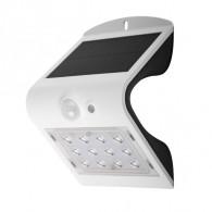 Светильник садовый Фаzа SLR-W03 белый настен. на солн. батарее, датчик движ.