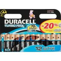 Батарейка Duracell LR6 TURBO BL 12/144