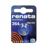 Батарейка Renata SR 621 SW (364) BL 1/10