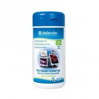 Defender Влажные салфетки для мониторов в тубе (100 шт) 30102
