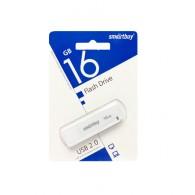 Флэш-диск SmartBuy 16GB USB 2.0 LM05 белый