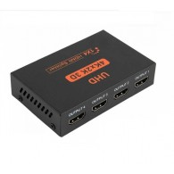 Сплиттер HDMI 1х4HDMI HW-4K104