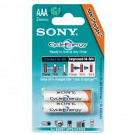 Аккумулятор Sony R03 800 Ni-Mh BL 2/20 предзаряженные