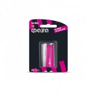 Батарейка Фаzа 6LR61 Super Alkaline BL /1