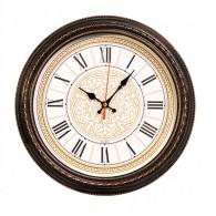 Часы настенные Бюрократ R68P D29см корич