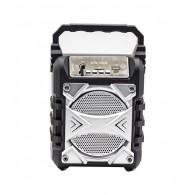 Колонка портативная KTS-1050B (USB\microSD\Bluetooth) серебро