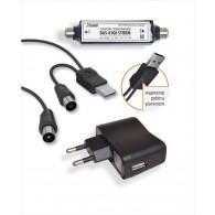 Усилитель антенный BAS-8108 (c б\п и USB)