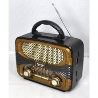 Радиоприемник MD-1903BT (Bluetooth/USB /SD/microSD/FM/акб/4*R20) чер Kemai